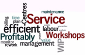 Service ERP Solution Workshop efficiency