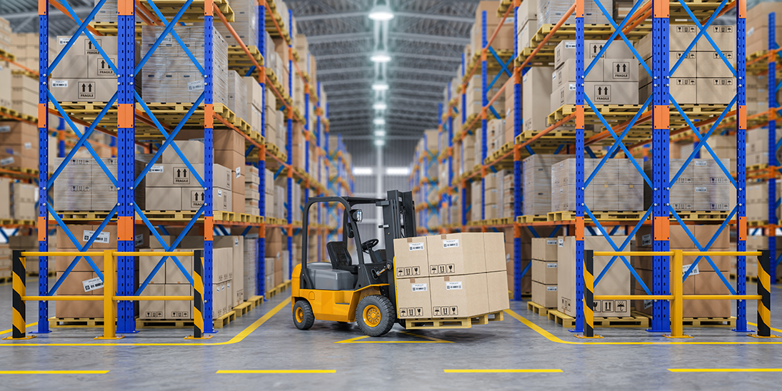 Sales and Distribution Embrace ERP Warehouse Forklift